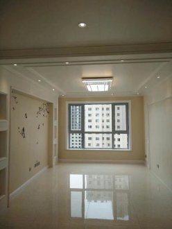 西宁海亮大都汇96平二室二厅装修效果图