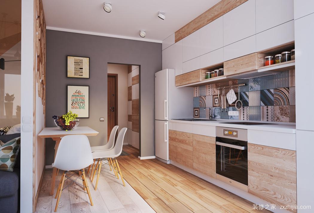 朗臣公寓86平北欧装修效果图