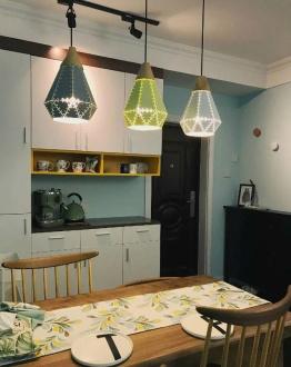 康桥悦岛现代简约二室二厅装修效果图
