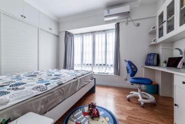 京汉·君庭现代简约卧室效果图