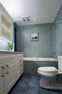 藍溪谷美式衛生間效果圖