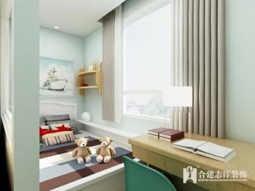 双桥新村现代简约儿童房效果图