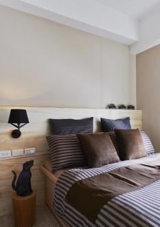 远洋自然时尚混搭卧室效果图