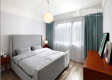 金地名京北欧卧室效果图