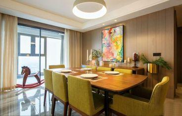 华东万悦城现代简约三室二厅装修效果图