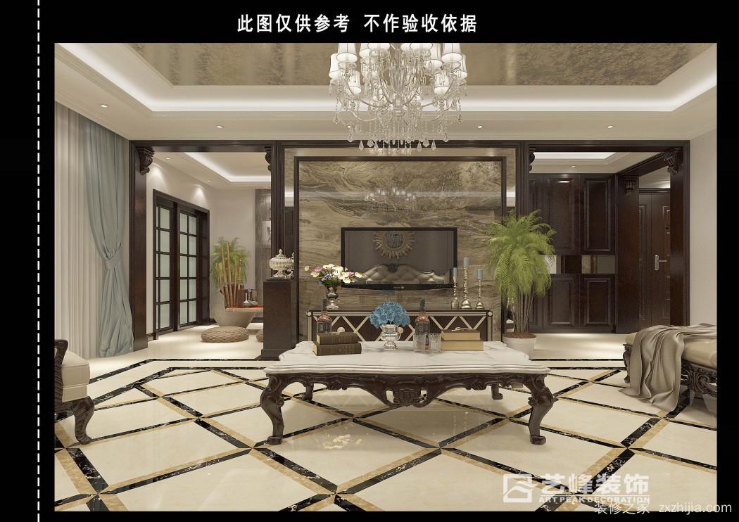 天山熙湖四室二厅300平装修效果图