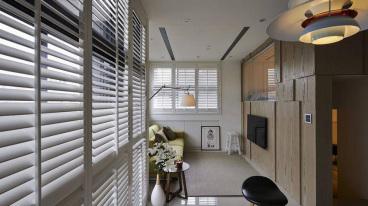 中铁·琉森水岸二室一厅现代简约装修效果图