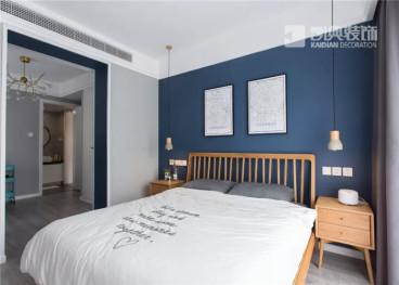 天润城第七街区北欧卧室效果图