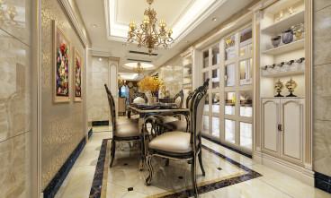 海亮红玺台欧式古典餐厅效果图