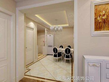 新田之星半包三室二厅装修效果图