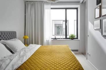 风尚城市派北欧卧室效果图