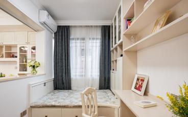 明豪花园美式卧室效果图