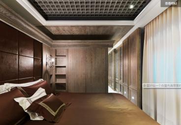 博士后家園現代簡約臥室效果圖