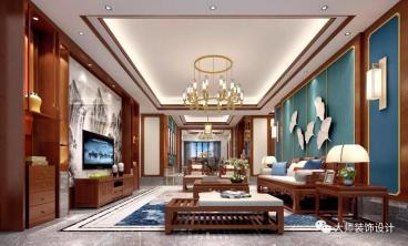 锦绣山河四室二厅200平装修效果图
