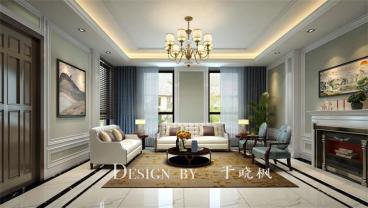 百福山庄现代简约五室二厅装修效果图