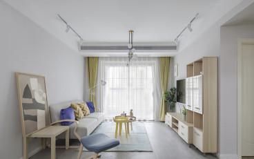 逸境南苑二室一厅现代简约装修效果图