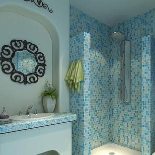 惠利雅苑地中海三室二厅装修效果图