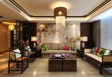 南悦城二室二厅84平装修效果图