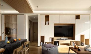 福泽园全包三室二厅装修效果图