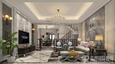 龙湖U城听蓝湾现代简约四室二厅装修效果图