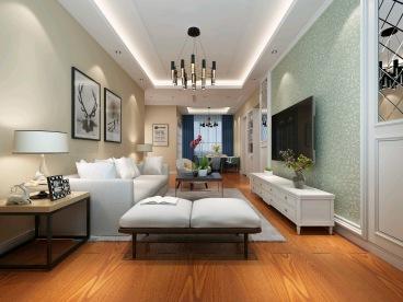 天润城1-4街区现代简约121平装修效果