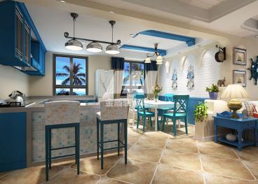 眾和康園地中海餐廳效果圖