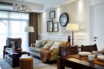 元森北新时代全包二室二厅装修效果图