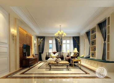 中粮祥云国际生活区住宅欧式古典六室四厅装