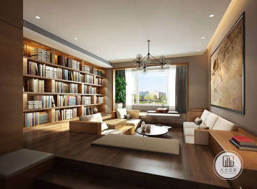 西山艺境别墅300平五室三厅装修效果图