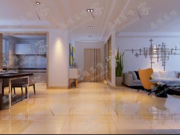 绿地塞尚公馆半包四室二厅装修效果图