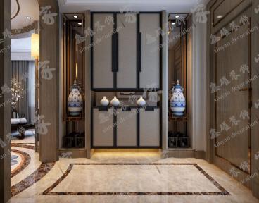 兴泰东河湾全包四室二厅装修效果图