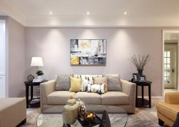 新景城市天骄美式二室一厅装修效果图