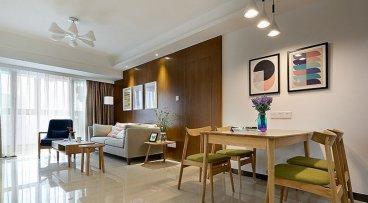 乾坤御苑三室二厅117平装修效果图