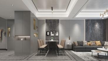 海逸豪庭尚都177平四室二厅装修效果图