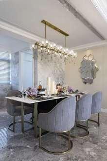 江南明珠三室二厅200平装修效果图