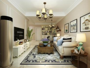 军绿公寓二室一厅115平装修效果图