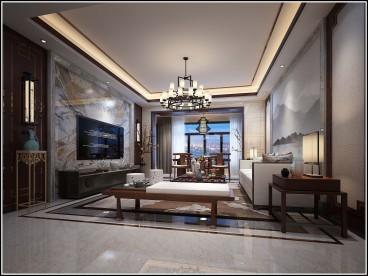 荣和邕江悦府97平三室二厅装修效果图