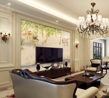 珠江丽景欧式古典三室一厅装修效果图