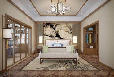 嘉和城依云堡中式客厅效果图
