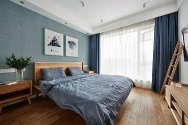 合肥宝能城现代简约卧室效果图