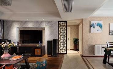 保利融侨时光印象110平三室二厅装修效果