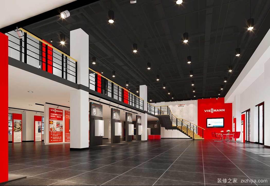 德国菲斯曼供热展厅(长沙)全包现代简约装