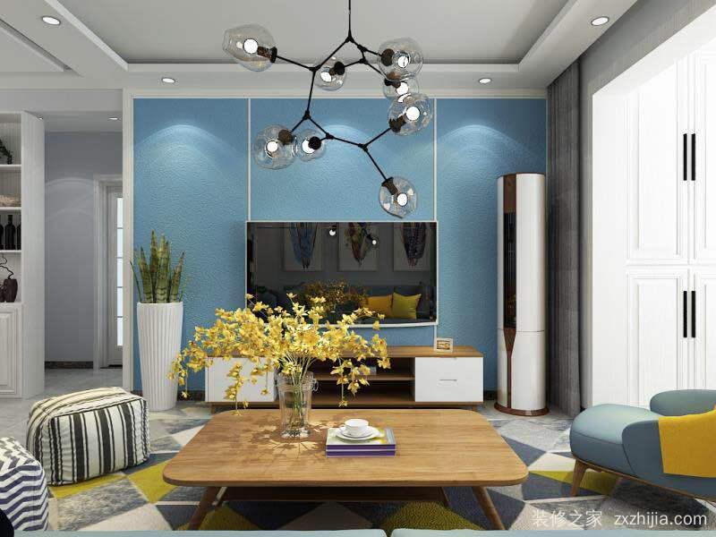 财富一号135平三室二厅装修效果图