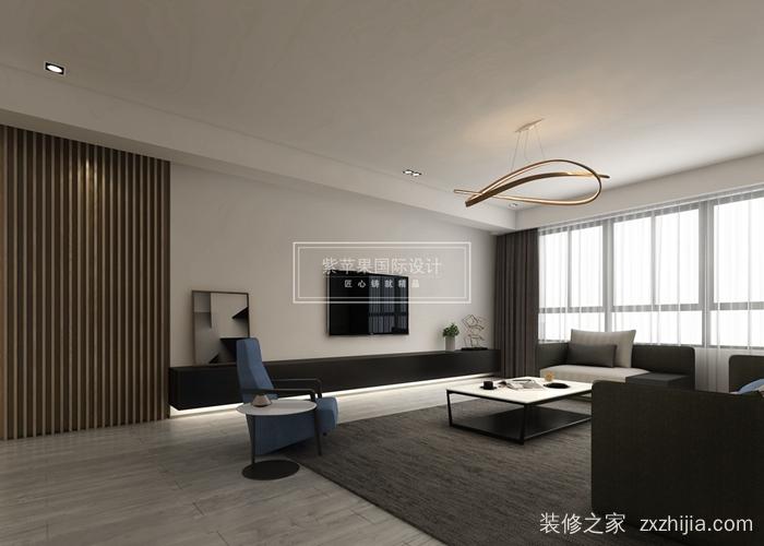 金桂尚苑四室二厅现代简约装修效果图