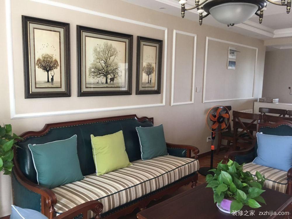 绿地世纪城210栋三室二厅120平装修效