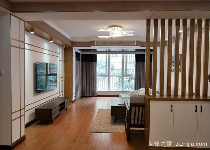 格林春天三室二厅半包装修效果图