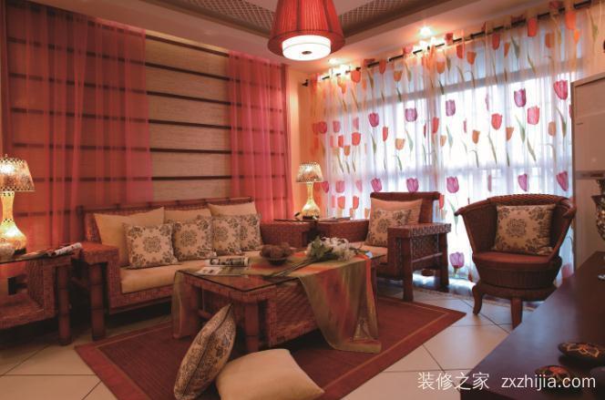 华润翡翠城别墅全包三室二厅龙虎国际娱乐手机登录效果图