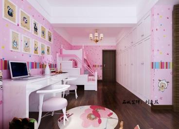 丽景湾144平三室二厅装修效果图