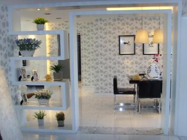 华润凯旋门二室一厅现代简约装修效果图