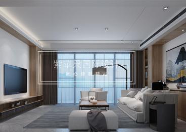 蠡湖瑞士花园北欧三室二厅装修效果图